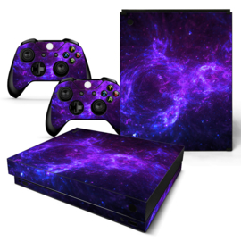 Dark Galaxy - Xbox One X Console Skins