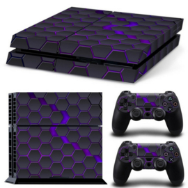 Hex Galaxy - PS4 Console Skins
