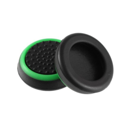 Black with Green Circle - PS4 Thumb Grips