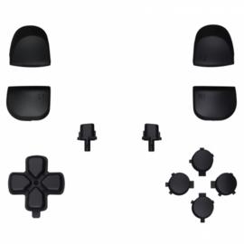 PS5 Controller Buttons - Zwart - 11 in 1 Button Set
