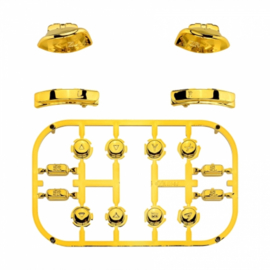 Gold Chrome - Nintendo Switch Controller Buttons
