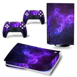 PS5 Console Skins - Dark Galaxy