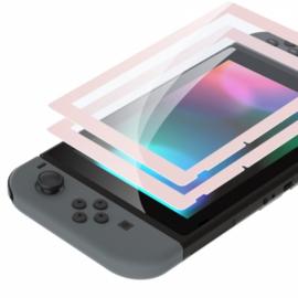 NS Behuizing Shell - Lichtroze - Screenprotector