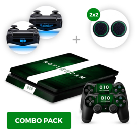 Rotterdam Skins Bundel - PS4 Slim Combo Packs