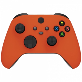 Xbox Series Draadloze Controller - Soft Touch Oranje Custom