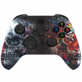 Xbox Series Draadloze Controller - Tiger Skull Custom