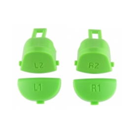Green L1 L2 R1 R2 (GEN 4, 5) - PS4 Controller Buttons