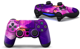 Shapes / Pink - PS4 Controller Skins