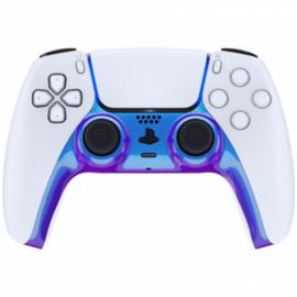 Sony PS5 DualSense Wireless Controller - Blue / Purple Metallic Cover Custom
