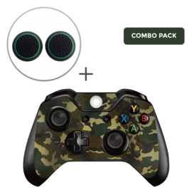Army Camo Flora Skins Grips Bundel - Xbox One Controller Combo Packs
