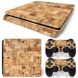 Wood Premium - PS4 Slim Console Skins