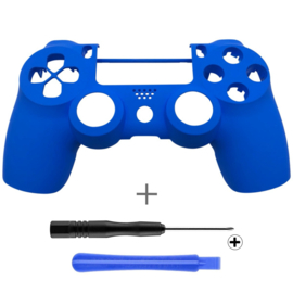Soft Touch Blue (GEN 4, 5) - PS4 Controllers Shells