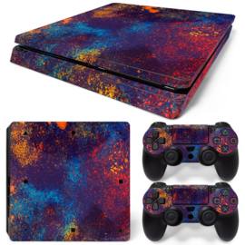 Graffiti - PS4 Slim Console Skins