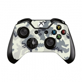 Army Camo White - Xbox One Controller Skins