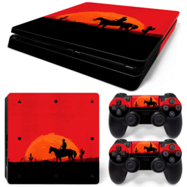 Wild West - PS4 Slim Console Skins
