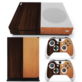 Wood Mix - Xbox One S Console Skins