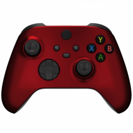 Xbox Series Draadloze Controller - Soft Touch Rood Custom