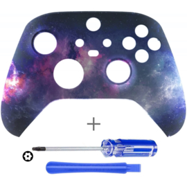 Xbox Series Controller Behuizing Shell - Milky Way - Front Shell