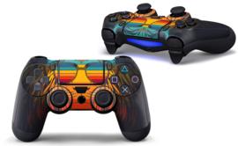 Retro Leeuw - PS4 Controller Skins