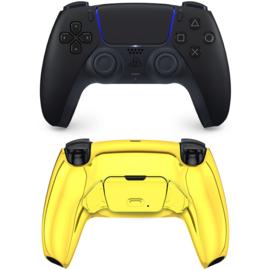 Sony DualSense eSports Controller PS5 - Midnight Black - Gold Chrome Custom