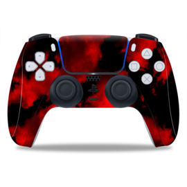 PS5 Controller Skins - Army Camouflage Red