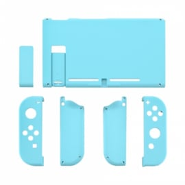 Soft Touch Hemelsblauw - Nintendo Switch Complete Set Shells