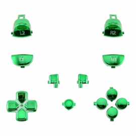 Groen Chrome (GEN 4, 5) - PS4 Controller Buttons