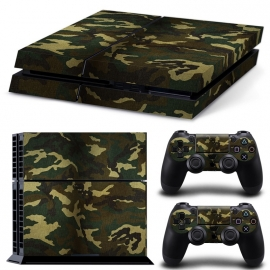 Army Camouflage Flora - PS4 Console Skins