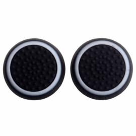 Zwart met Witte Cirkel - PS4 Thumb Grips