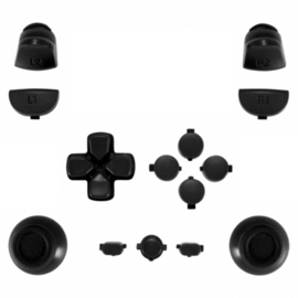 Black (GEN 4, 5) - PS4 Controller Buttons
