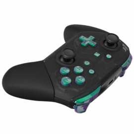 NS Buttons - Groen / Paars Metallic - Pro Controller Buttons