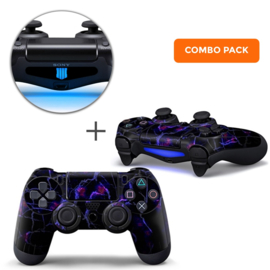 Dark Matter Skins Bundel - PS4 Controller Combo Packs