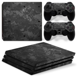 Digital Camouflage Dark - PS4 Pro Console Skins