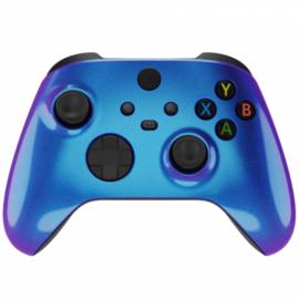 Xbox Series Draadloze Controller - Metallic Chameleon Blauw / Paars Custom