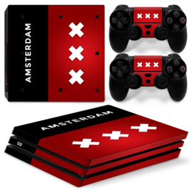 Amsterdam Premium - PS4 Pro Console Skins
