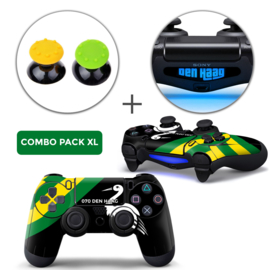 Den Haag Skins Grips XL Bundel - PS4 Controller XL Combo Packs