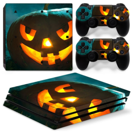 Halloween Pumpkin - PS4 Pro Console Skins