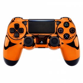 Chrome Orange - Custom PS4 Controllers