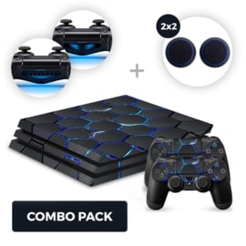 Hex Lightning Skins Bundel - PS4 Pro Combo Packs