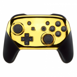 Chrome Goud - Custom Nintendo Switch Pro Controllers