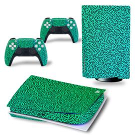 PS5 Console Skins - Cool Gradient Blauw / Groen