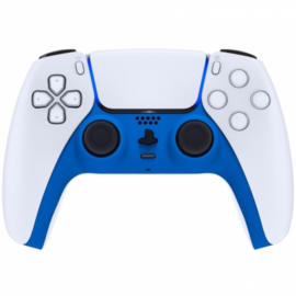 Sony PS5 DualSense Draadloze Controller - Blauw Soft Touch Cover Custom