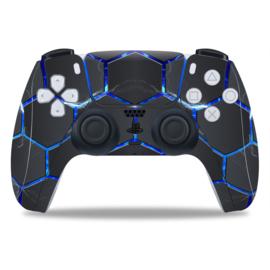 PS5 Controller Skins - Hex Lightning