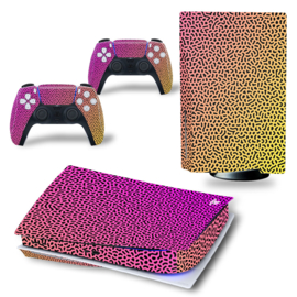 PS5 Console Skins - Cool Gradient Geel / Roze