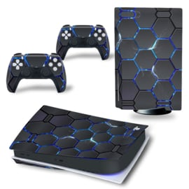 PS5 Console Skins - Hex Lightning