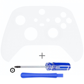 Soft Touch Wit - Xbox Series Controller Behuizing Shell