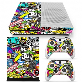 Stickerbomb - Xbox One S Console Skins