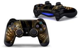 Skull with Cards - PS4 Controller Skins