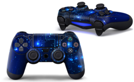 CPU / Blue - PS4 Controller Skins