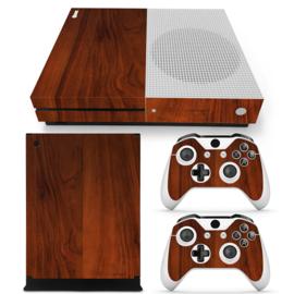 Wood Elegant - Xbox One S Console Skins